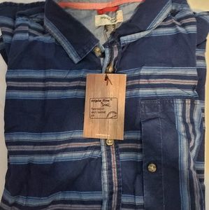 Blue Stripe button-up shirt